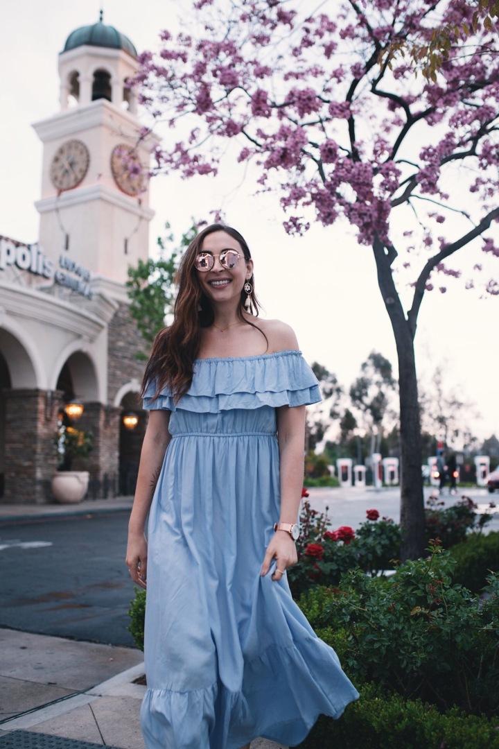Boho Belle Dress & Westlake Promenade5-6-18